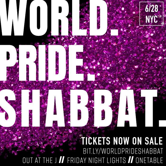 World Pride Shabbat